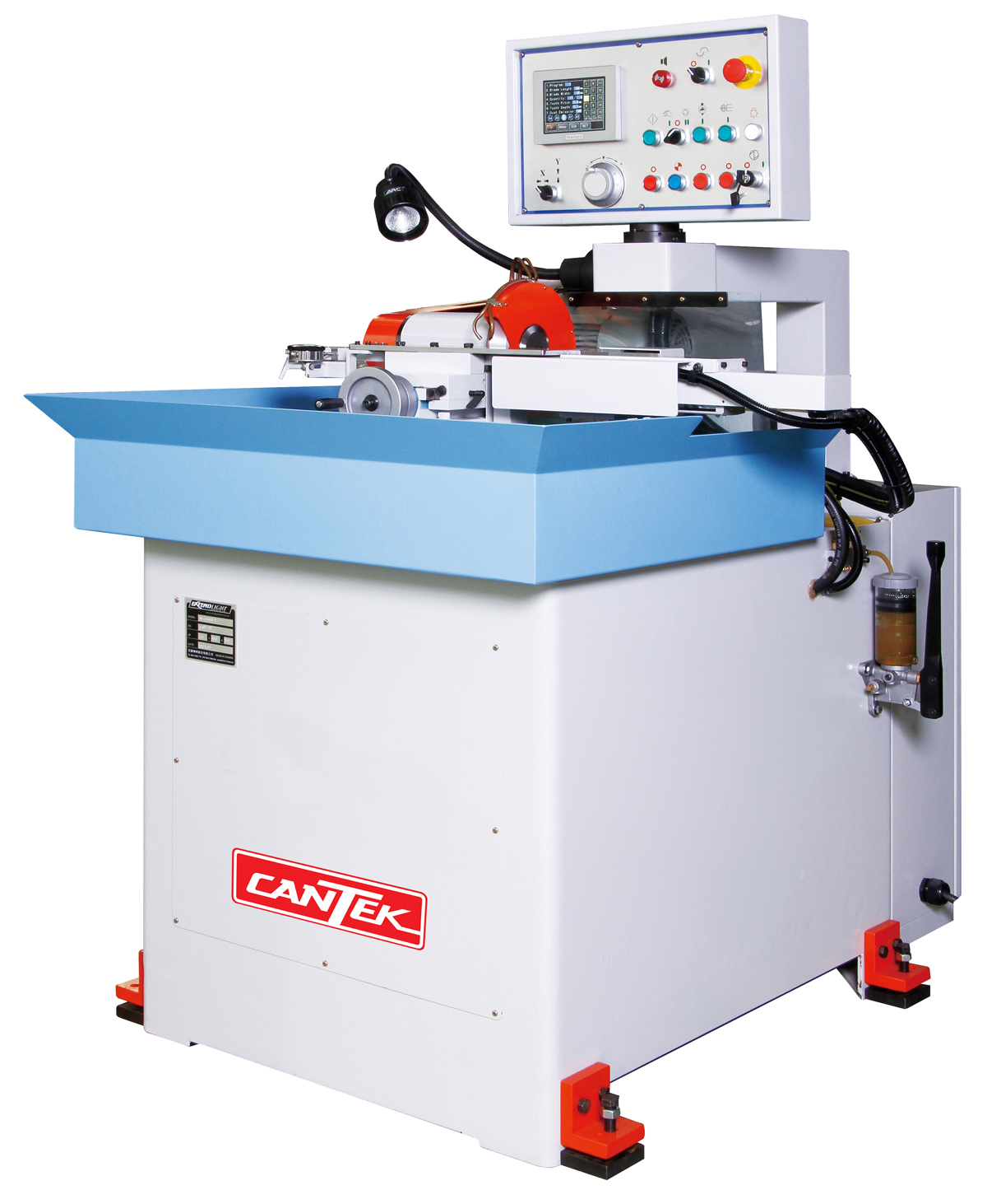 CANTEK SG-65 Automatic Frame Saw Blade Sharpening Machine | CAN